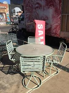 Outdoor table/chairs,outdoor setting,banana lounge WE CAN DELIVER Brunswick Moreland Area Preview