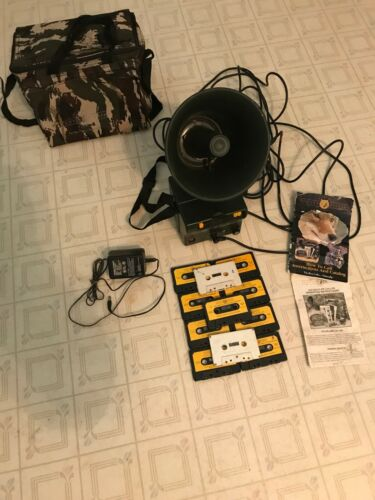Johnny Stewart 612 Deluxe Professional Caller With Tapes, Speaker, Bag , Etc