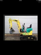 Mini excavator hire $200 per day Kellyville Ridge Blacktown Area Preview