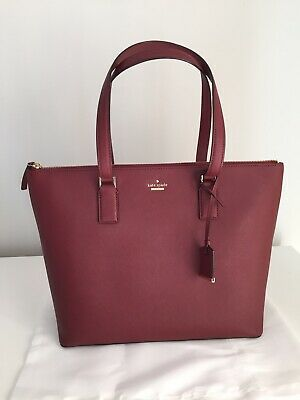 """Kate Spade New York Cameron Street """"Lucie"""" Tote. Leather. New."""
