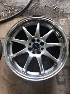 Rims wheels roues jantes 17» pouces Mini Civic...