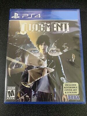 *NEW* Judgment - Sony PlayStation 4 PS4 Judgement