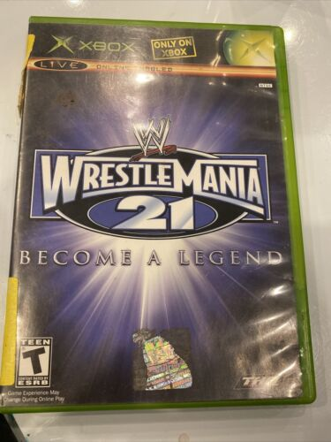 WWE WrestleMania 21 Microsoft Xbox, 2005  - $9.30