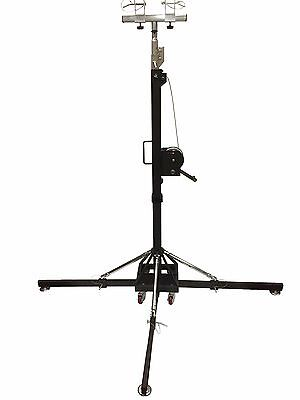 17Ft Heavy Duty Tower Lifter Crank Lighting DJ Concert Stand W/Outriggers