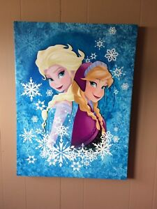 Frozen Wall Art, Skating Barbie & Puzzle