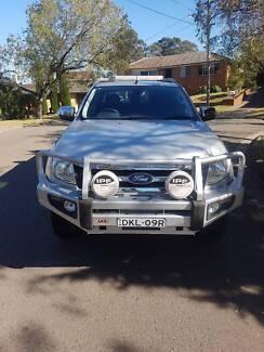2012  PX Ford Ranger XLT  Silver Auto Dual Cab Utility