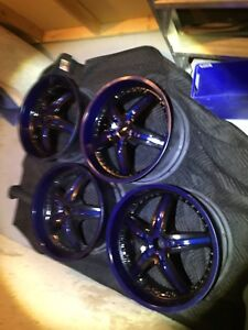 "22""rims 5bolt pattern"