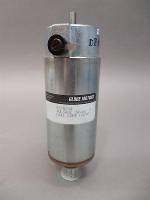New Globe Motors 24v 537a225 With Optical Encoder E2-1000-250 Motor -nos