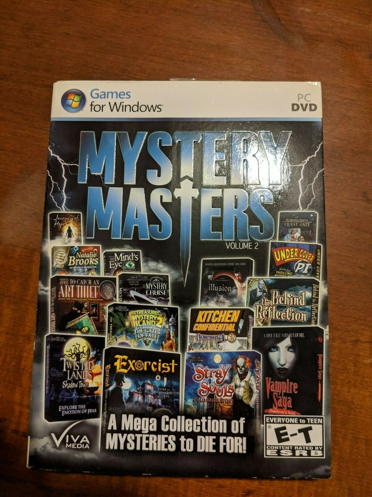 Computer Games - COMPUTER GAMES - MYSTERY MASTERS VOLUME 2 (15 GAMES) -C1