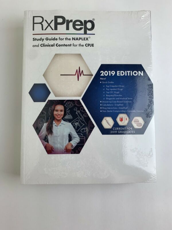 RxPrep ~ 2019 Course Book for Pharmacist Licensure Exam Preparation