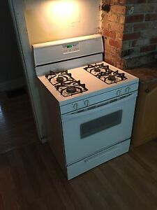 Whirlpool gas top and oven