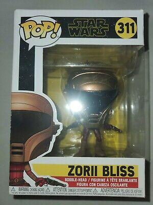 Funko Pop Star Wars The Rise of Skywalker: Zorii Bliss 311 Vinyl Bobble-Head NEW