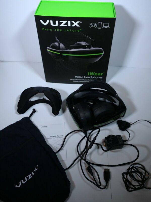 Vuzix iWear Video Headphones 412T00011