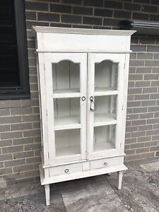 White Washed Antique Style Cabinet Castlecrag Willoughby Area Preview