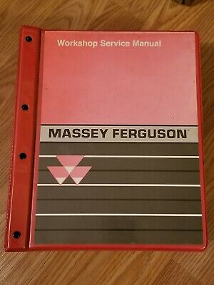 Massey Ferguson M-f 1000 Series Compact Tractors Workshop Service Manual