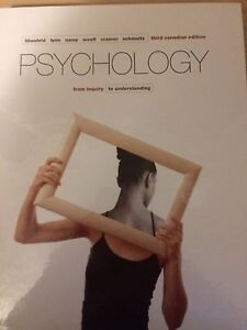 Psychology From Inquiry to Understanding third edition