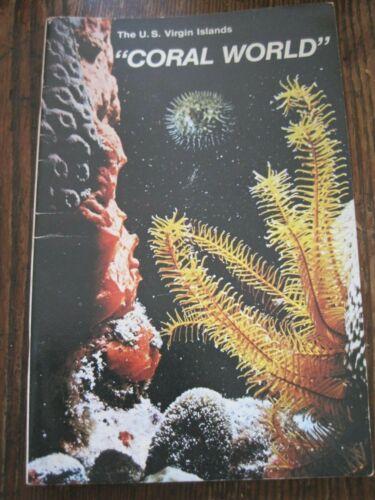 1979 US VIRGIN ISLAND CORAL WORLD BOOKLET