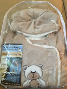 New (Still in Package) Stroller Sleeping Bag 0-6m. $15