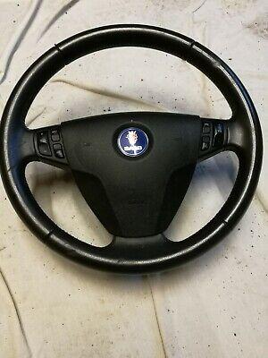 Saab 9-3 05 Steering Wheel And Airbag