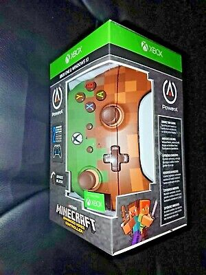 Minecraft Grass Block Xbox One Enhanced Wired Controller Power A Brand New