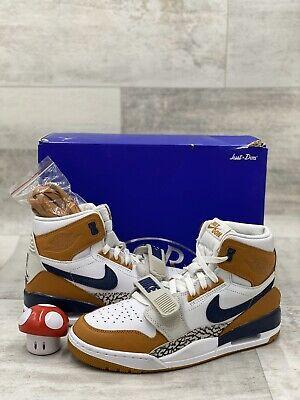 Just Don x Nike Air Jordan Legacy 312 NRG White Medicine Ball AQ4160-140 Sz 9
