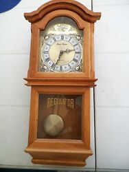 DANIEL DAKOTA REGULATOR WESTMINSTER CHIME QUARTZ WALL CLOCK