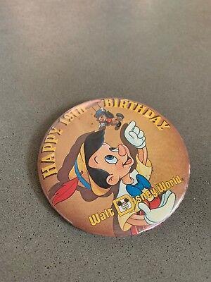 Walt Disney World Pin - Happy 19th Birthday - - Happy 19th Birthday