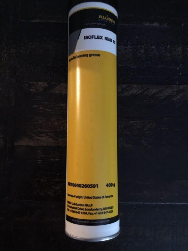 Kluber ISoflex NBU 15 Grease 400 Gram Cartridge Tube