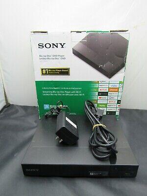 SONY BLU-RAY DISC/DVD PLAYER MODEL BDP-S3700 W/ NO REMOTE