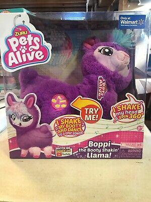 Zuru Pets Alive Boppi the Booty Shakin Llama Plush Toy New