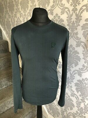 100% Genuine Long Sleeve Green Versace T Shirt