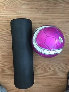 Body roller and soccer
