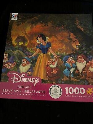Ceaco Disney Snow White Fine Art Among Friends 1000pc puzzle