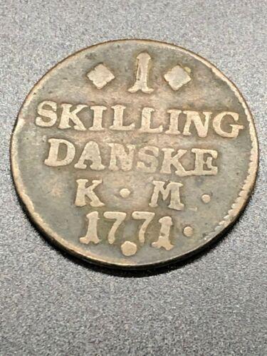 1771 - Denmark - 1 Skilling