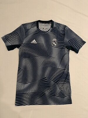 Adidas Real Madrid 2018/2019 Pre-Match Training Top Men's Size S(New With Tags)