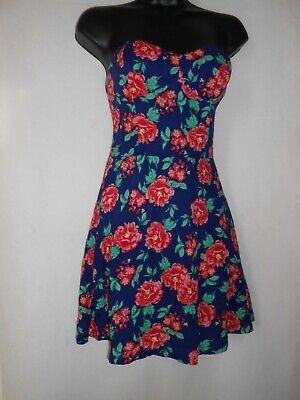 New Superdry floral beach summer dress XS RRP £39.99
