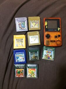 Gameboy color and games!