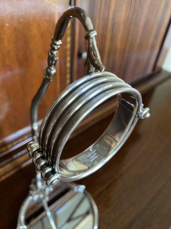 A Hans Hansen Silver Bracelet Circa 1950 Copenhagen Denmark
