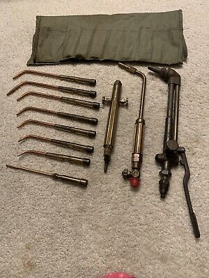 Vintage Victor And Presto Weld Torchwelding Tool Tips Lot 11