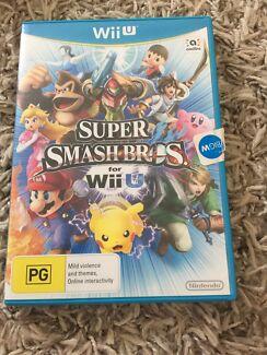 Wii U Super Smash Bro's used game