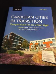 Canadian Cities in Transition 5 edition new