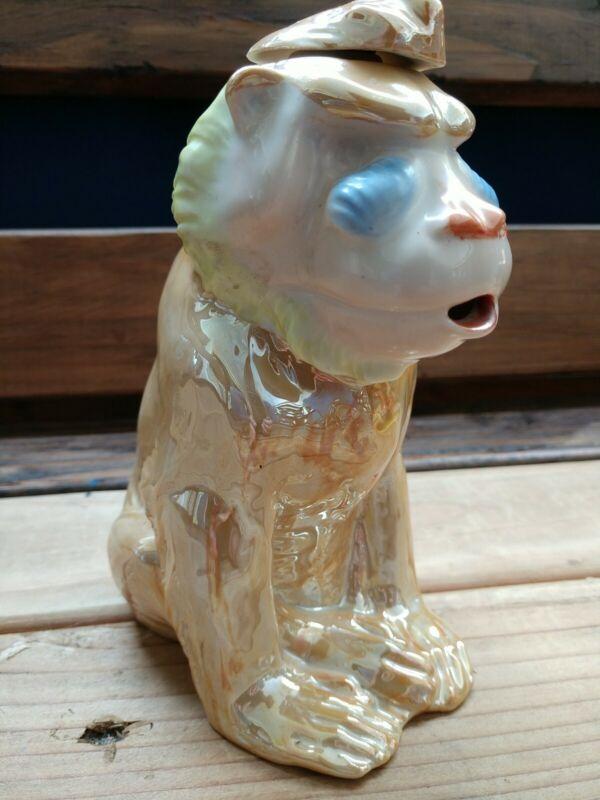VTG (Germany) monkey porcelain Decanter