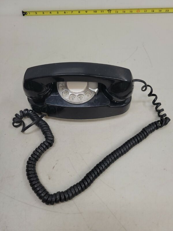 Vintage AT& Western Electric 10 Button Black Princess Rotary Phone