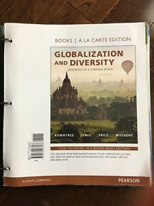 Globalization and diversity OBO