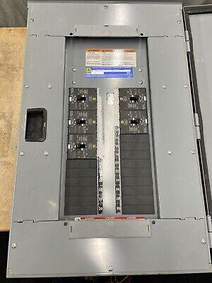 Nf Panel Panelboard 3r Enclosuredoor Square D Panel 480277v 3 Phase Wbreakers