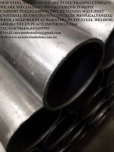 SCAFFOLD PIPE-GALVANISED ROUND PIPE 40NB*4MM FOR BUILDING,FABRICA Smithfield Parramatta Area Preview