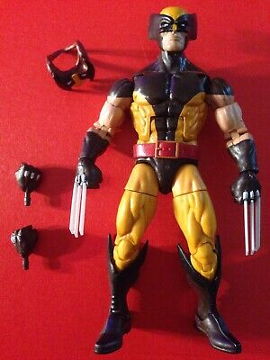 "Marvel Legends, Wolverine, Juggernaut BAF Wave, Complete, 6"" Loose,Includes Mask"