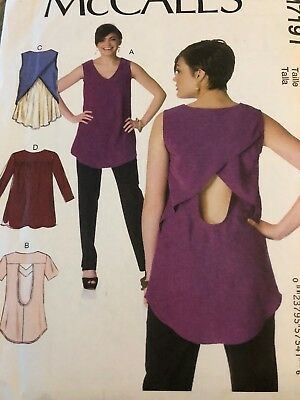 McCall's 7191 Misses' Tops    Sewing Pattern