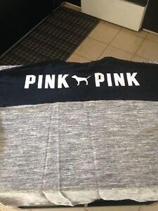 Victoria's Secret PINK tunic lace up top