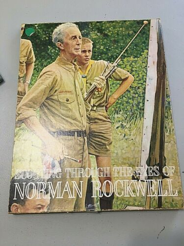 Scouting Through The Eyes of Norman Rockwell Original Box #2768 38 Art Prints